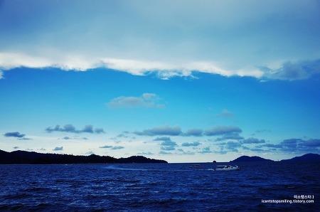 코타키나발루 석양만큼 아름다운 맑은 하늘 :D