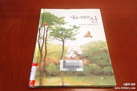 수채화가 아름다운 그림책, '새를 사랑한 산'