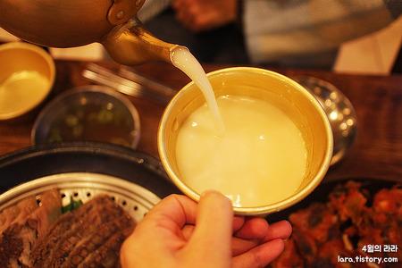 을지로3가 맛집, 나주소 나주곰탕의 독특한 수육과 무제한 동동주