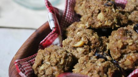 [노버터베이킹] 오독오독 맛있는 오트밀 쿠키 만들기 [동영상레시피]