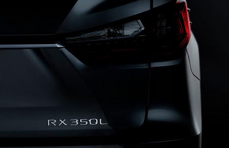 렉서스, 새로운 3열 7인승 SUV 'RX L' 출시 예고