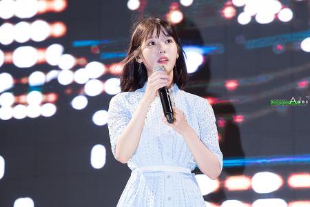 170803 해운대 Hite EXTRA COLD Summer Festival 아이유 직찍 by 아데스