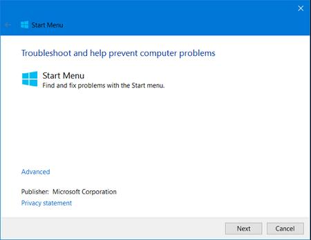 윈도우10 시작메뉴 먹통일때