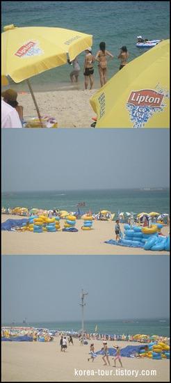 [강릉여행-경포대]강원도 여름의 최고 해수욕장