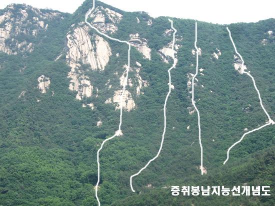 북한산등산코스 : 삼각산의 오지탐험 제24탄-푸들바위