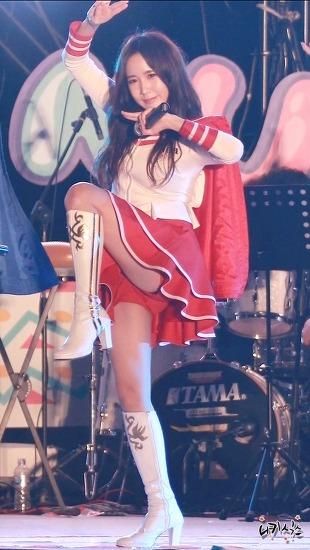 [16.07.21] 크레용팝(Crayon Pop) 초아 보령머드가요제 축하공연 직캠 by 니키식스