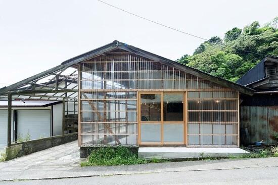 *농가리모델링 베이글 하우스 [ ROOVICE ] transparent bagel shop