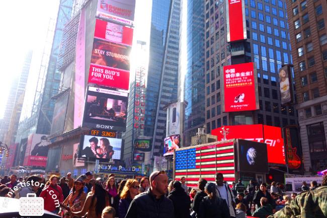 뉴욕, 취향의 여행 Day 4. 블랙 프라이데이! 타임스퀘어..