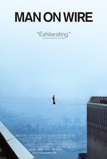 맨 온 와이어(Man on wire)... 제임스 마쉬, 필리페 페티... 영화같은 다큐멘터리