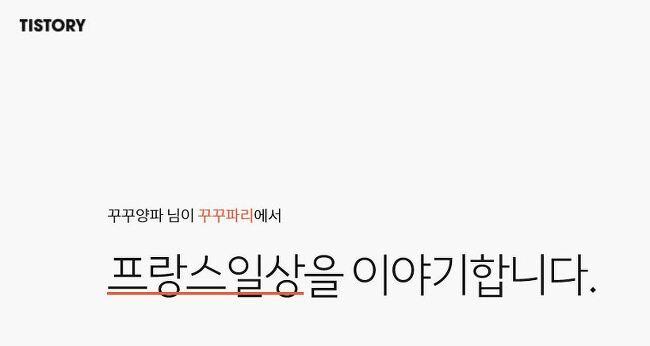 [꾸꾸파리] 2017티스토리결산