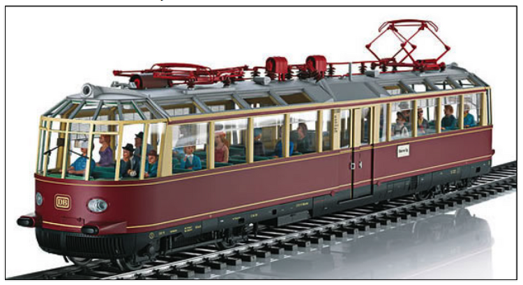 "Marklin Electric Railcar ET 91 01 ""Glass Trai.."