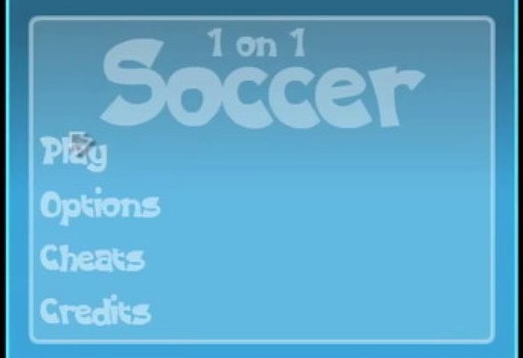 2인용축구하기 - 대두경기