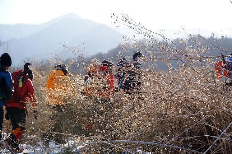 [일요산행]포천 국망봉 180211