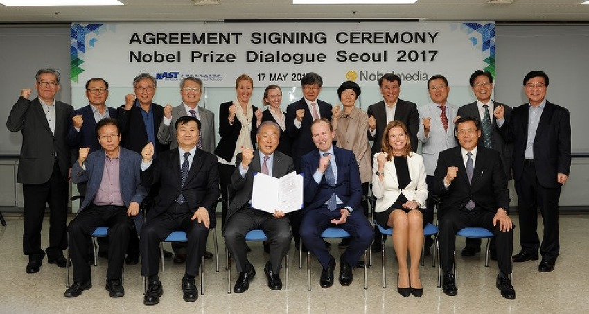 Nobel Prize Dialogue Seoul 2017 체결식 개최