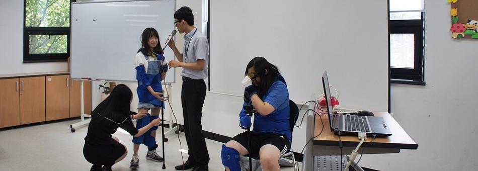 삼성전자 온양캠퍼스 임직원 자녀 자원봉사교육 현장