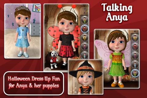 Talking Anya Dress Up & Pet Puppies