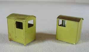 HO scale C&NW tender dog house