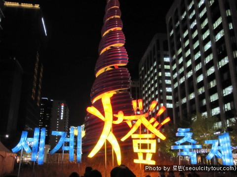 [청계천] 도심에 수 놓아진 등불 향연 _ 2010 세계 등 축제