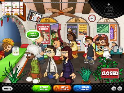 플래시 게임 재미나넷 파파스 타코미아 Papas Taco Mia 플래시게임