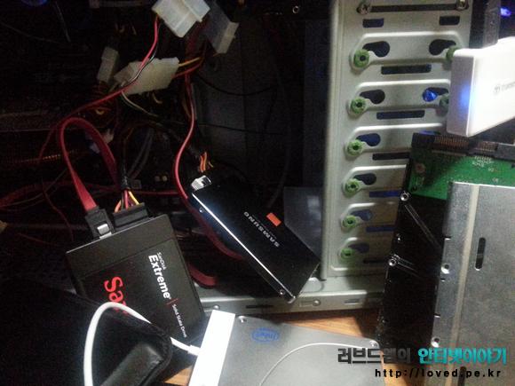 삼성 SSD 840 250GB 벤치마크 환경