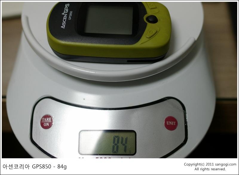 아센코리아 GPS850 - 84g