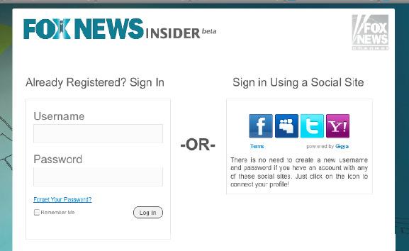 소셜 싸인 온 (Social Sign On)