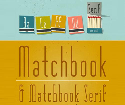 무료 폰트, Matchbook