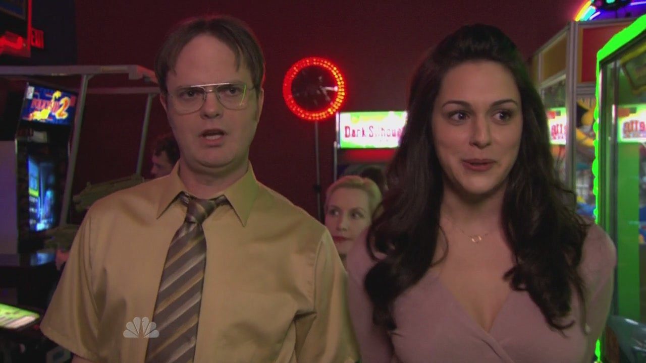 Dwight & Isabel (& Angela)
