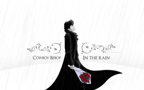 Cowboy Bebop - Rain 바탕화면