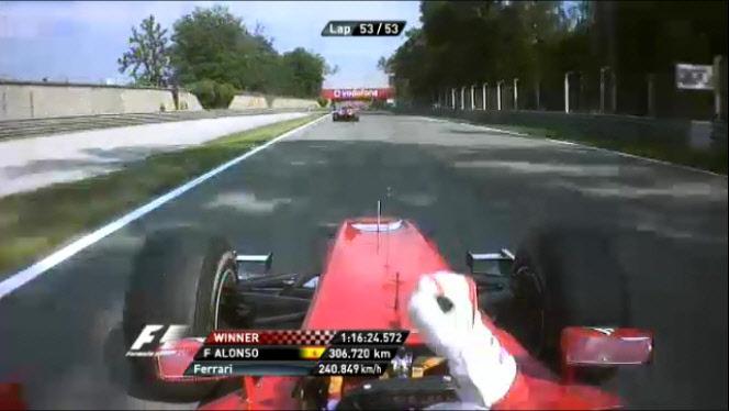 F1 이탈리아 몬자 GP 결과 (2010년 9월 12일)