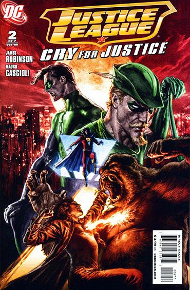 〈저스티스 리그 : 크라이 포 저스티스〉 #2 - 정의를 외치는 영웅들의 만남!