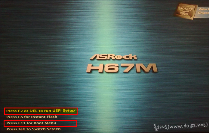 ASRock(에즈락) UEFI - 초기화면