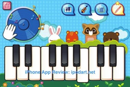 아이폰 아이패드 어린이 음악 교육 키즈 악기놀이 - Keys Kids Play