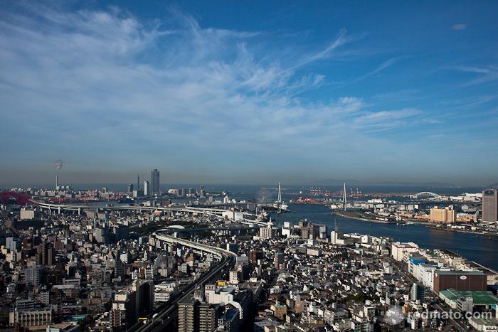 [오사카여행기 #10] 오사카 베이 호텔 조식- 멋진 경치의 스카이라운지