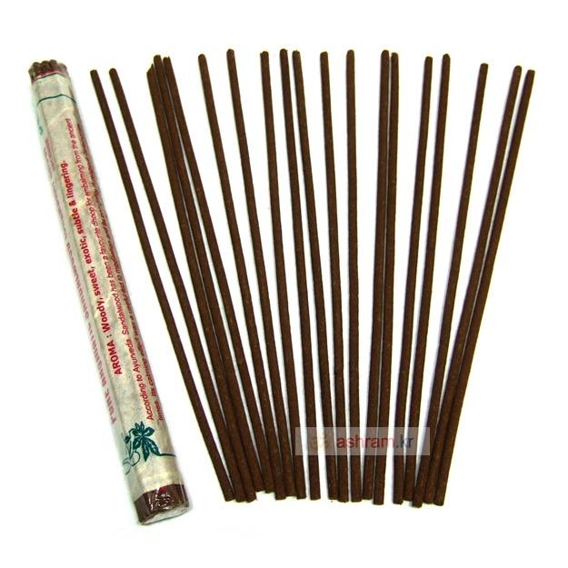 백단향의 우디한(woody) 향기가 그리울 때 피우는 인도향 / Aromatic Sandalwood Dhoop