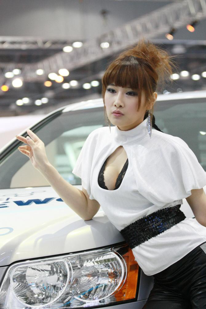GM대우 레이싱모델 황가희