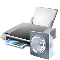 Printer and speaker(c)Microsoft