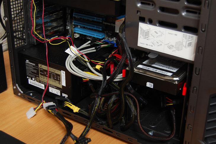 IT, 컴퓨터, 선정리, cable, clean, 팁, 컴퓨터팁, 유용한정보, 습관, 정보, 전력선, AWG, 하네스, 접힘, S-ATA, SATA