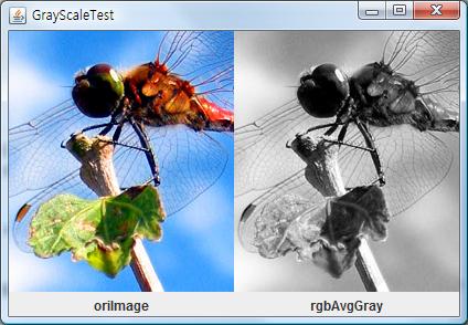 RGB의 평균값으로 만들어낸 이미지