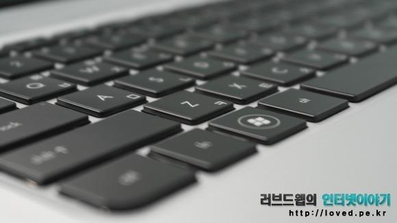 HP 엔비 스펙터XT 키감