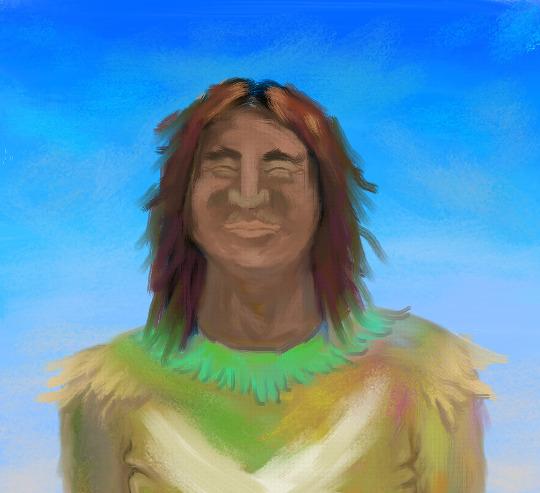 미대륙 원주민 아저씨 (Native American)