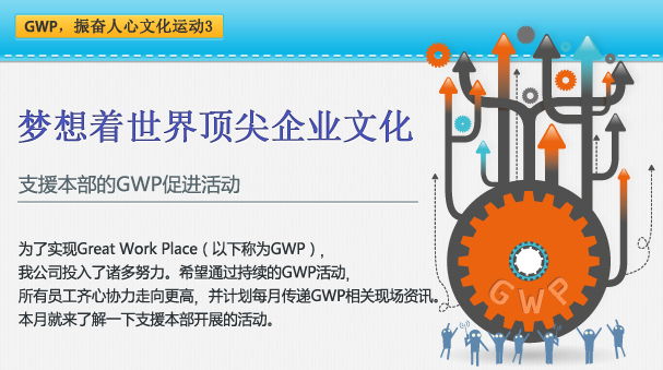 为了实现Great Work Place