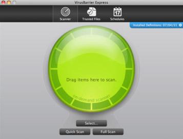 맥용 무료백신(Mac Anti-Virus) - VirusBarrier Express 사용방법