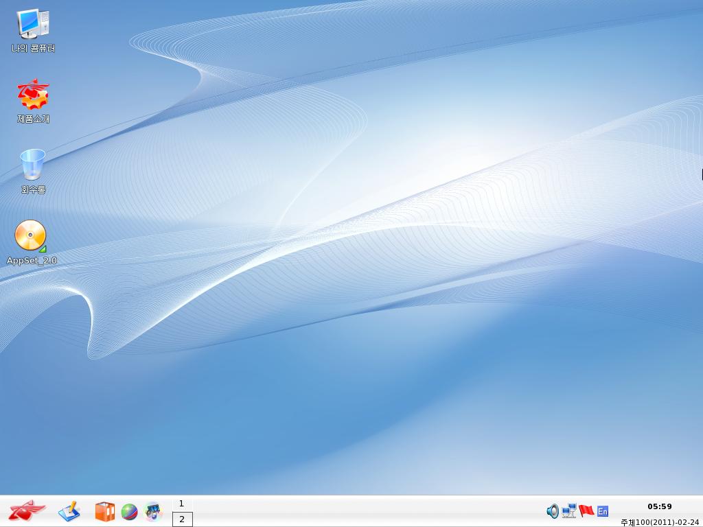X-윈도우는 KDE이군요