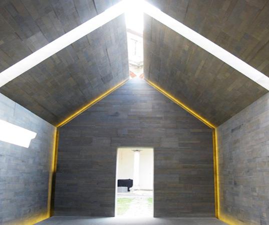 슬로워크 :: 99%가 재활용된 화강암으로 만들어진 집?
