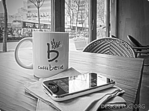 카페베네, 아이폰 3G HDR Photo