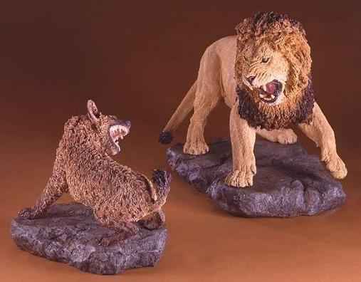사자 VS 하이에나