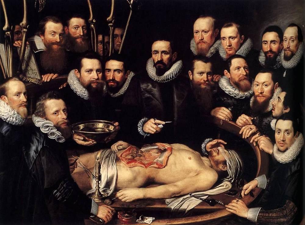 Rembrandt Anatomy Lesson Of Dr Deyman