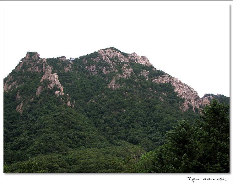 설악산 사진, 설악산 케이블카