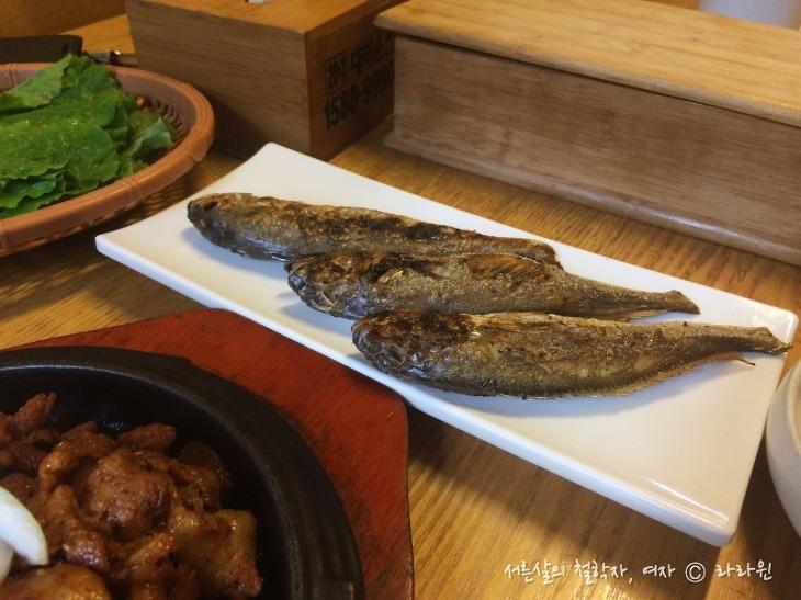 음식이야기 밥, 인사동 한식 맛집